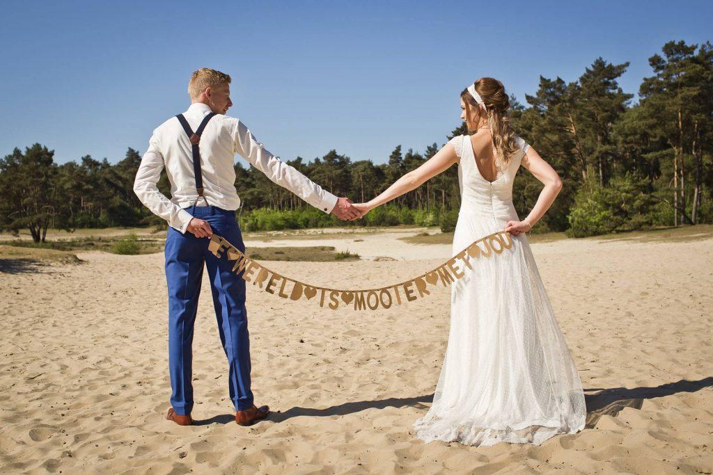 trouwpak met bretels
