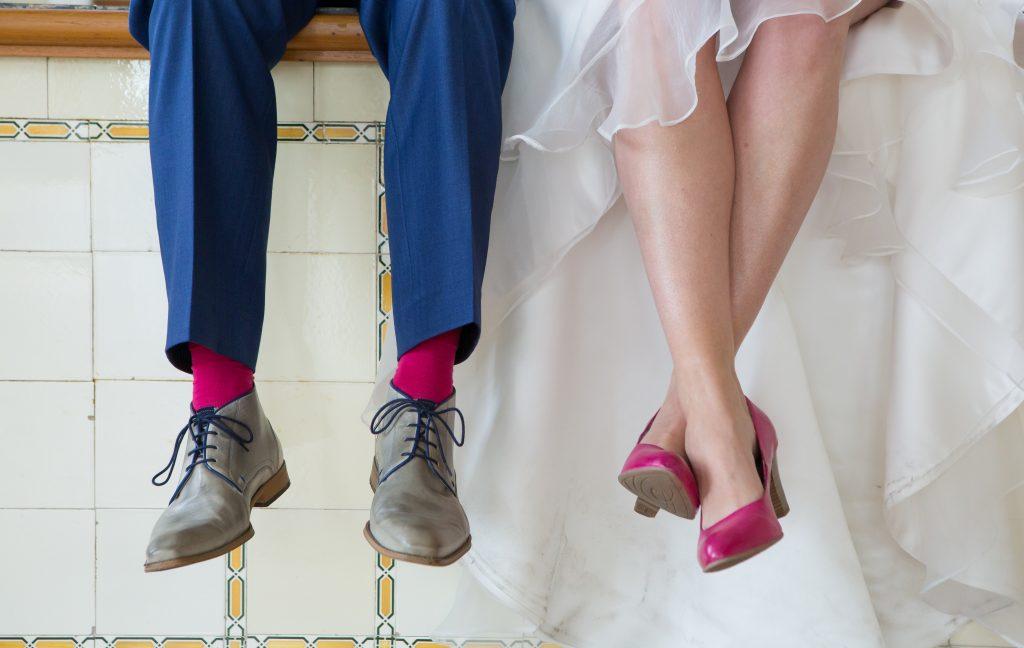 schoenen bij jouw maatpak trouwen